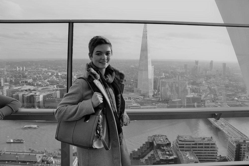 Pauline in London.