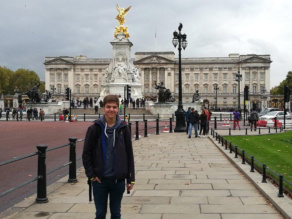 Felix in London.