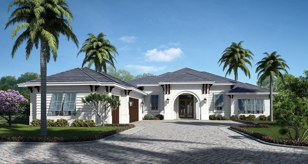 The Antigua At Camino Real Is Heritage Buildersu0027 Latest Luxury Custom Home  And Will Be Constructed In Sarasotau0027s Coveted West Of Trail Area.