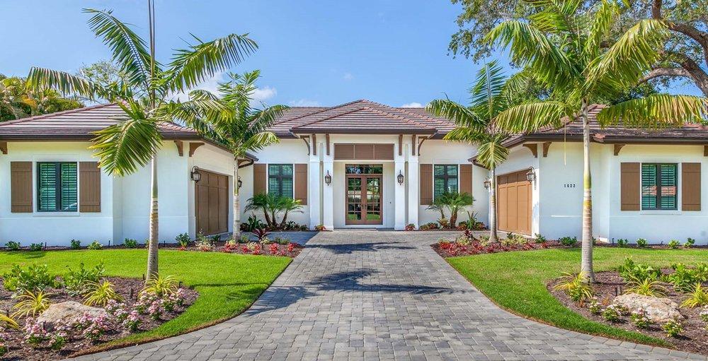 West Indies Architecture in Sarasota Florida