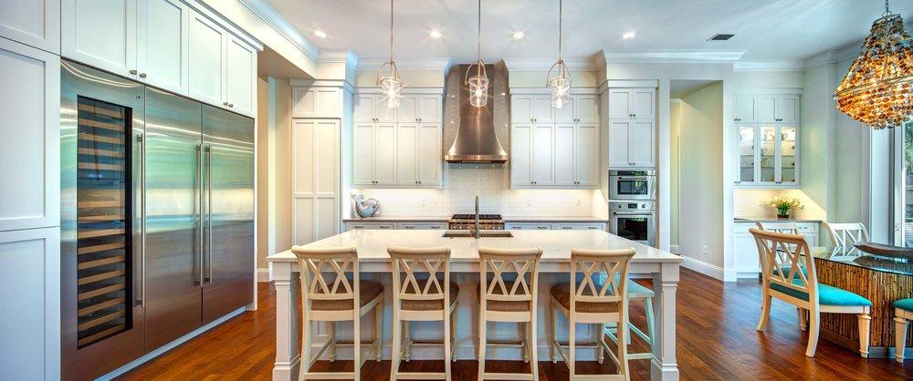 Sarasota Custom Home Luxury Kitchen