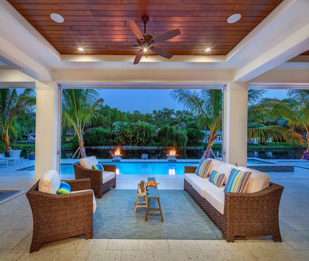 Sarasota Custom Builder Outdoor Living