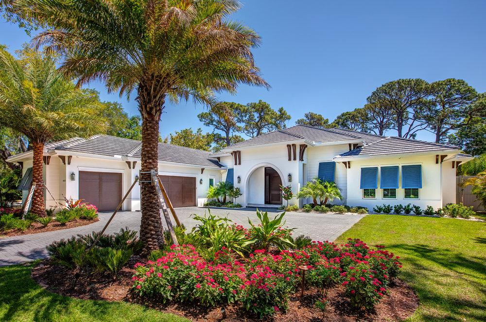 Sarasota Custom Builder Coastal Architecture