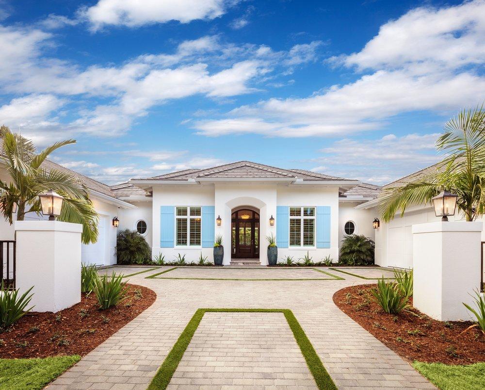 custom home design and custom home floor plans \u2014 luxurious custom front close jpg