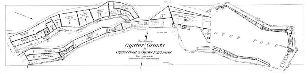 The old Oyster Grants of Oyster Pond and Oyster Pond River, C. E. Hudson, 1918 (OPCE001)
