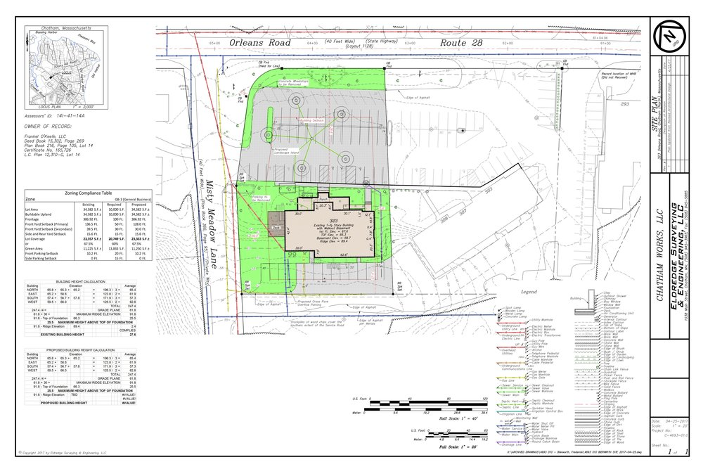 Site Plan filed with the HBDC Download the PDF here.