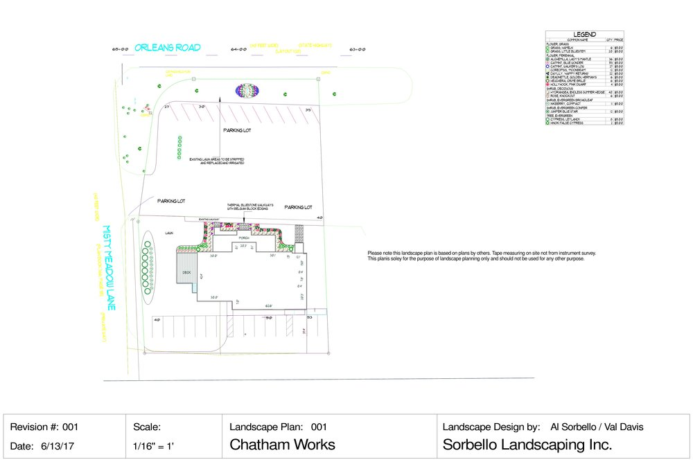 Preliminary Landscaping Plan