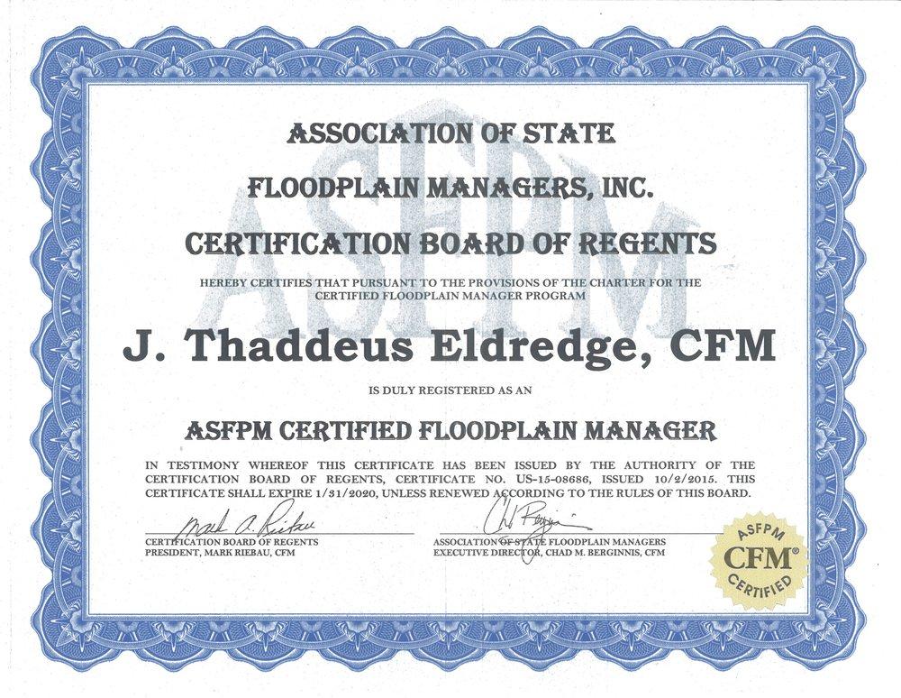 2017 Flood Plain Manager Certificate.jpg