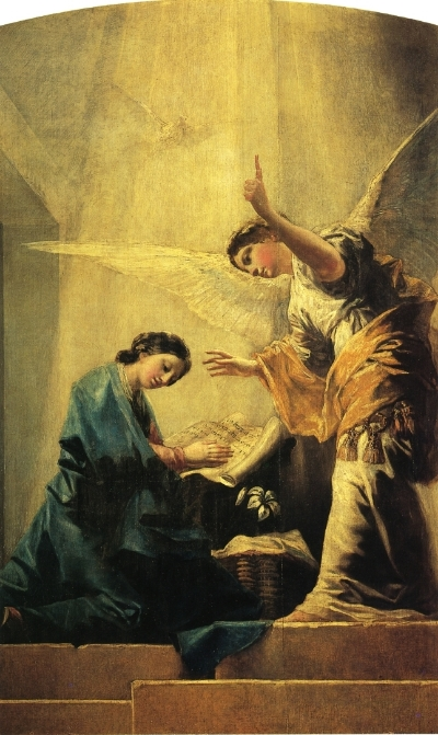 The Annunciation by Francisco Goya