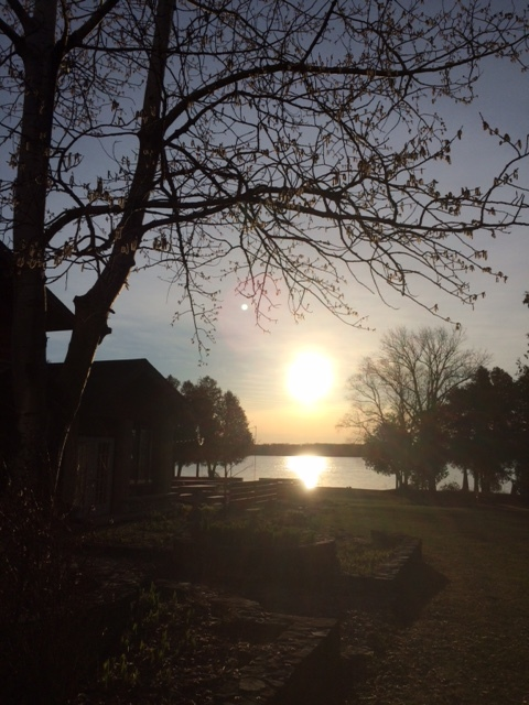 """Peace""       Sunrise over Kangaroo Lake, Door County Wisconsin"