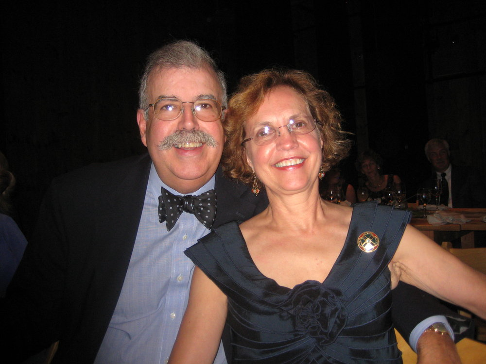 Tom and his wife, Donalyn