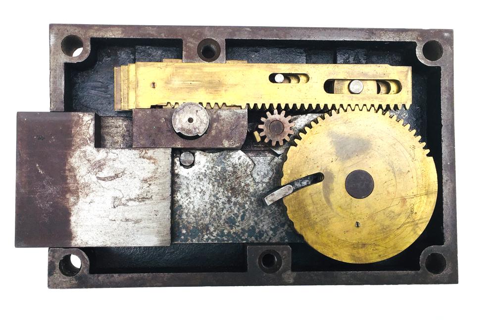 16. Opened, Key,  Locked