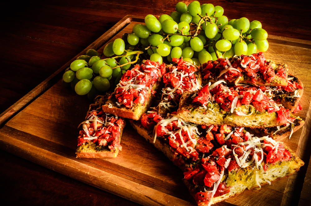 Mo Betta Bruschetta is the perfect Italian finger food.