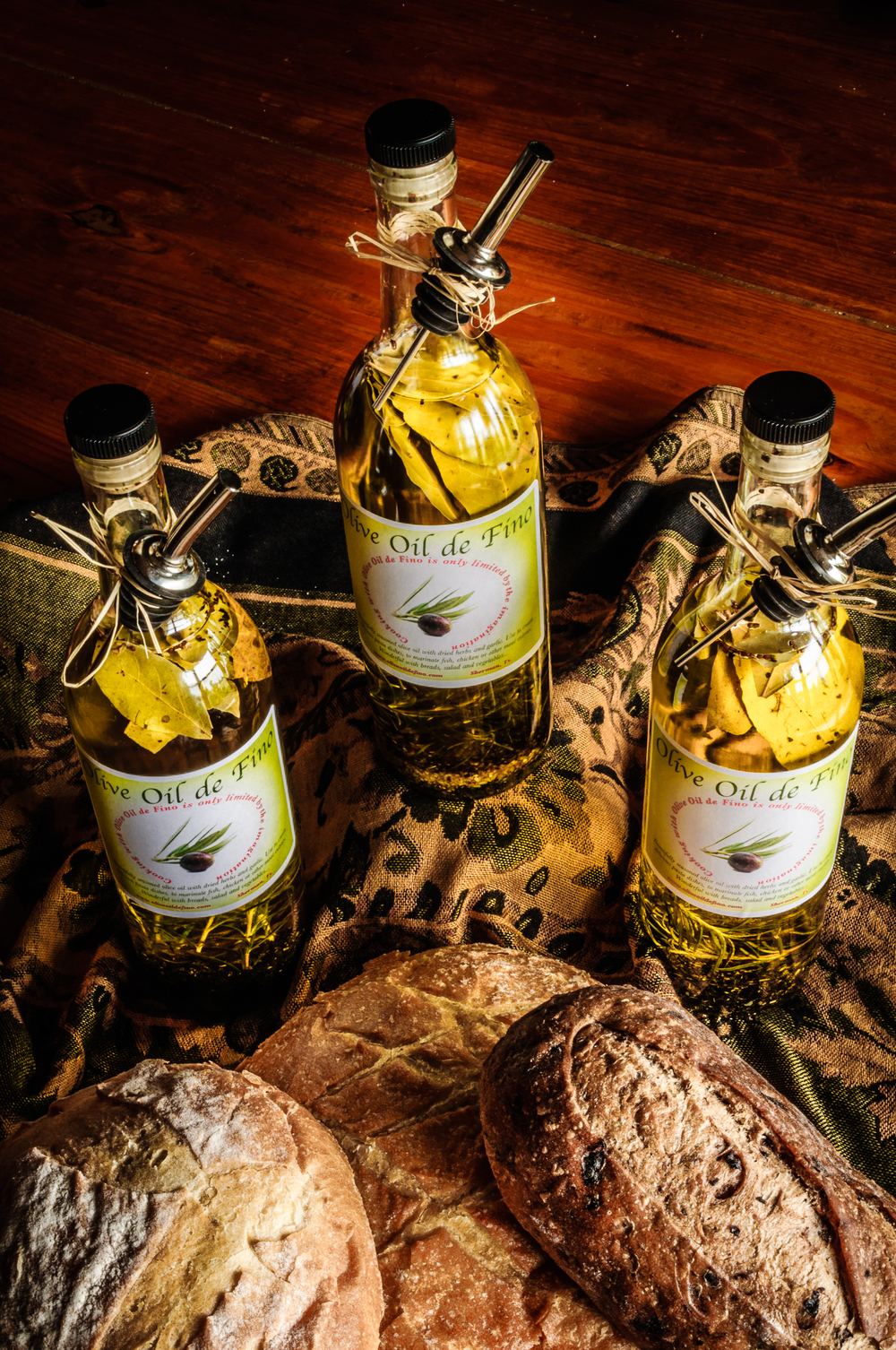 Olive Oil de Fino Bottles