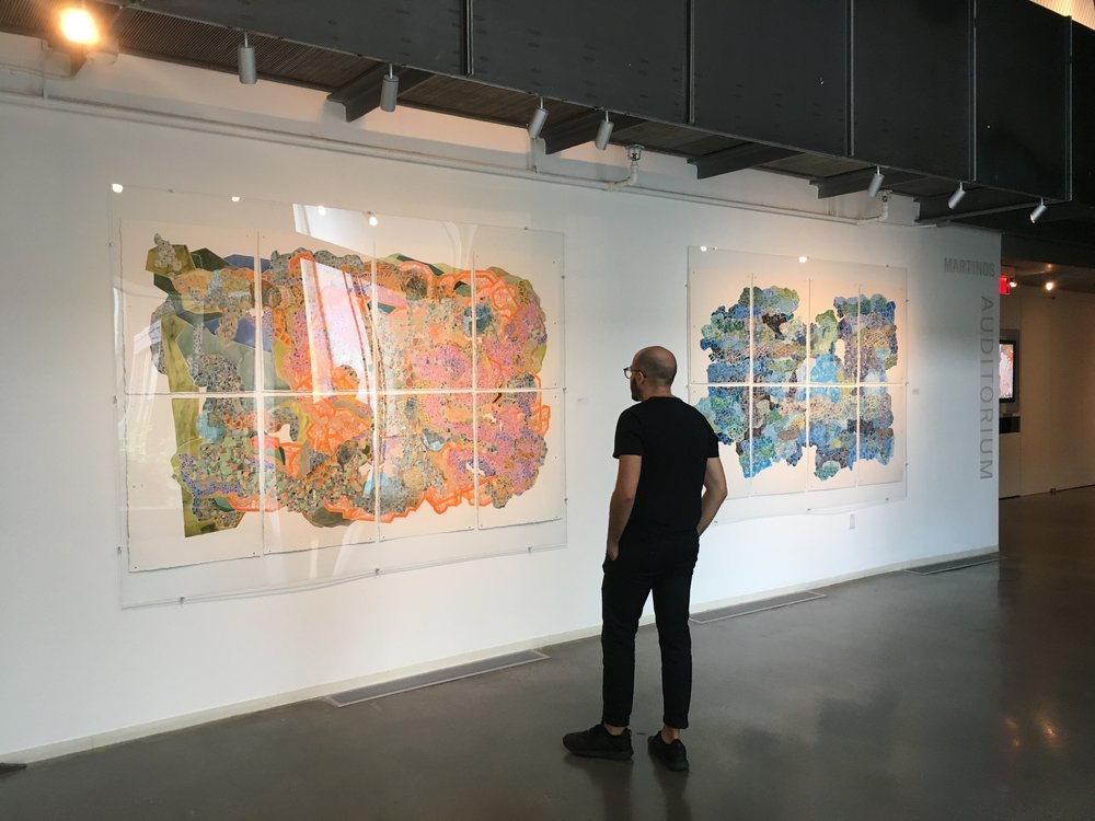 Installation view, Granoff Center for the Creative Arts, Brown University, Providence, RI.