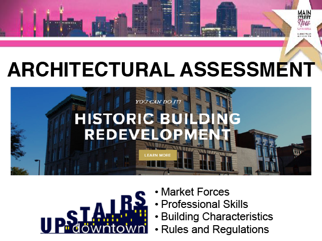 Section 3 - Upstairs Downtown Architectural Assessment - Main Street Now 2018
