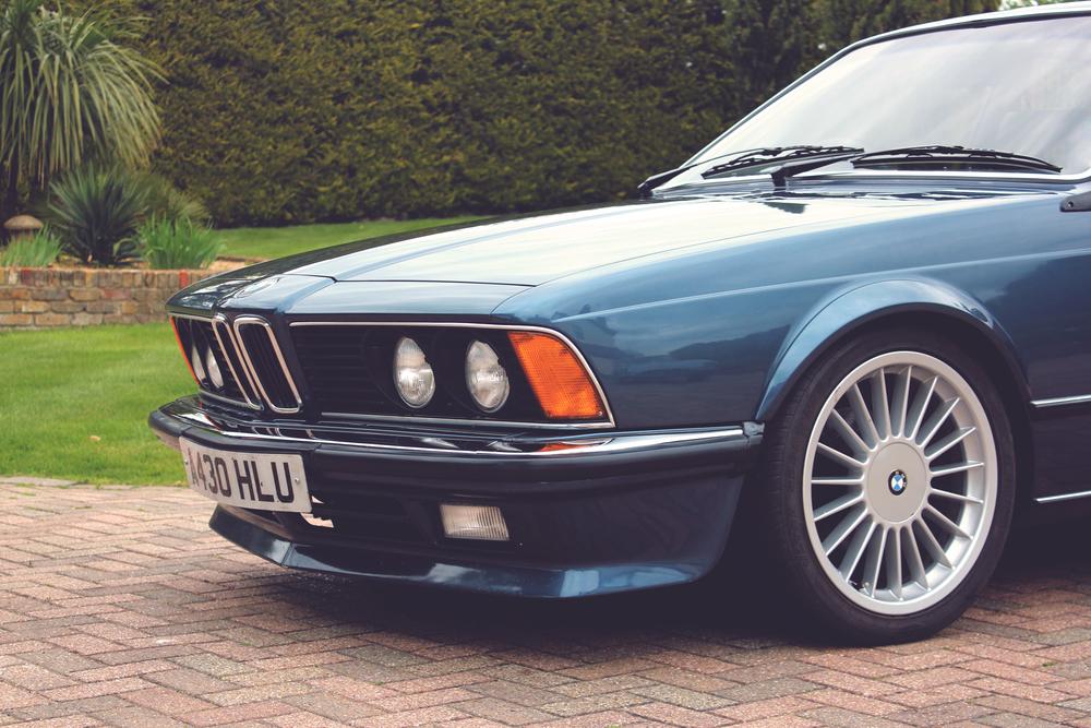 Bmw 635csi Luxury Classic Car Hire Rental London