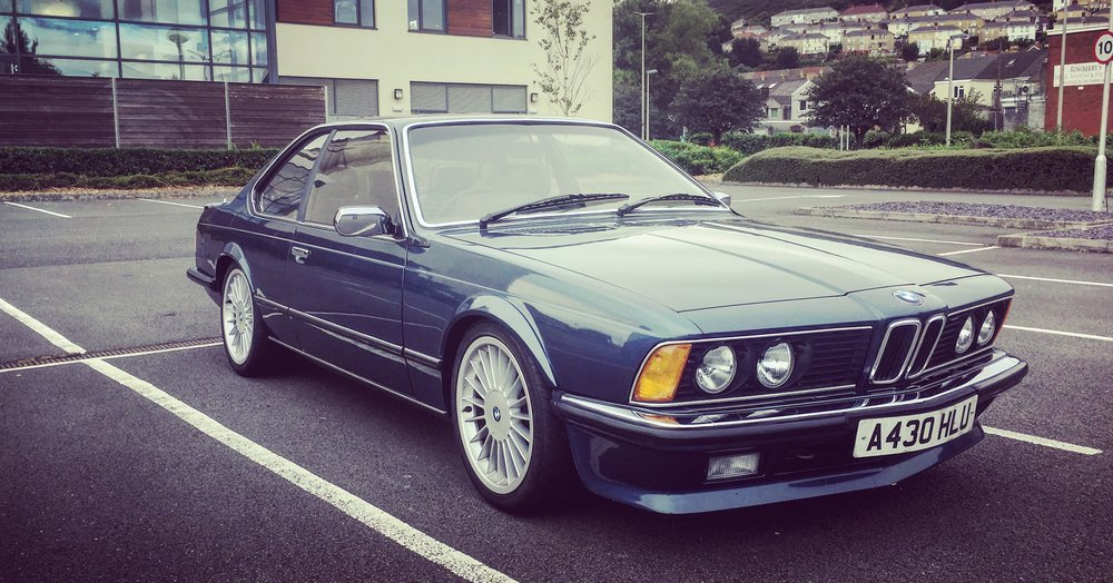 BMW 635CSI - Luxury Classic Car Hire Rental - London — Love Classics
