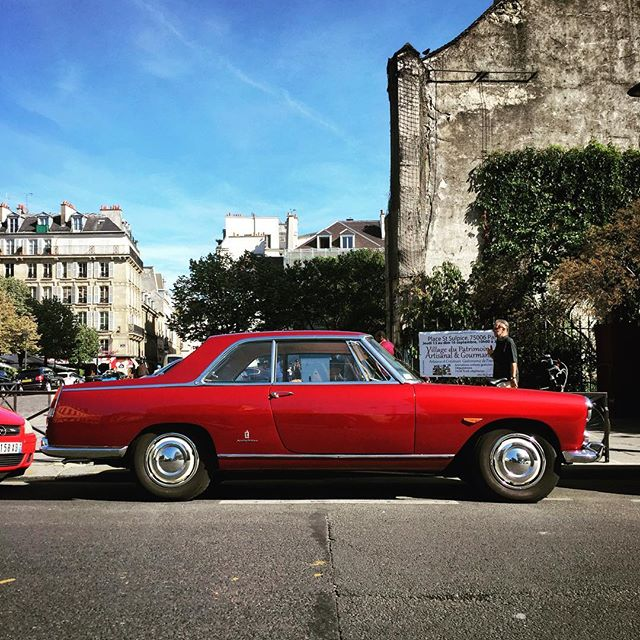 Lancia Flaminia 28 in Paris