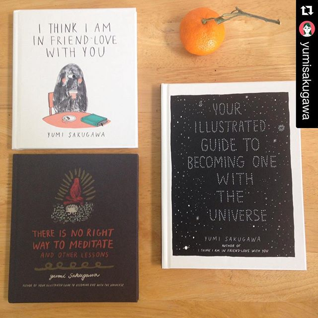 We bet you loved Yumi's contribution to the Feminist Utopia Project. You should check out her books!  #Repost @yumisakugawa with @repostapp. ・・・ 🎅🏼🎅🏼 last minute holiday gift ideas for anyone needing them 🎅🏼🎅🏼😚