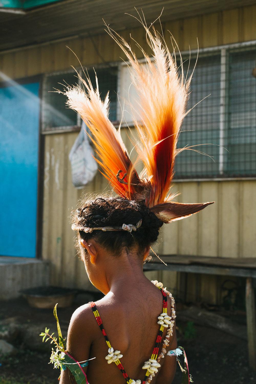 Angelica Asimba-Baruga with Raggiana bird-of-paradise headdress.jpg