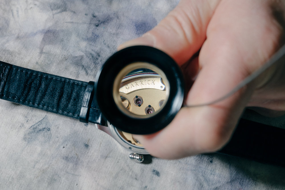 Garrick, English Luxury Watchmakers for The Telegraph