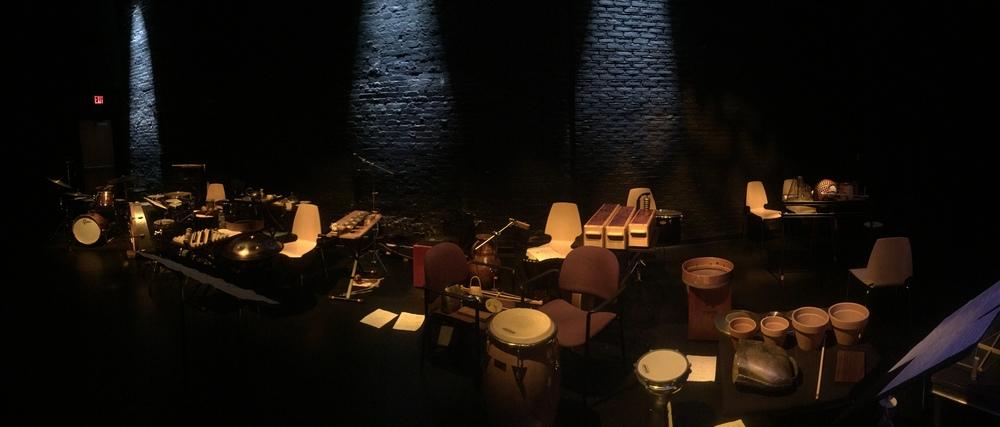 Vasanta Percussion Quartet: Eric Hollenbeck, Shilo Stroman, Jeremy Maytum, Leo Canale