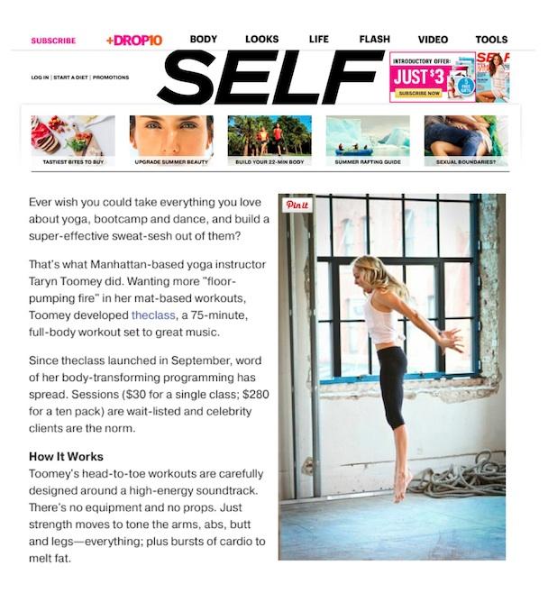 SELF.com, October 2013