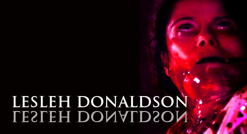 "LESLEH DONALDSON plays ""Evelyn Dyck"" & ""The Woman in Black""  Click here for IMDB"