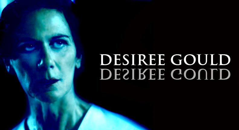 "DESIREE GOULD plays ""Nurse Malliard""  Click here for IMDB"