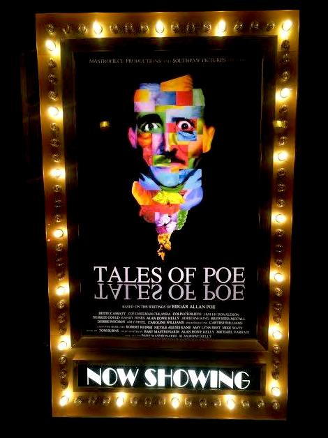 10/10/14  -  TALES OF POE  screened at the  Hollywood Theater in Dormont - Pittsburgh, Pa! Thank you all who attended!