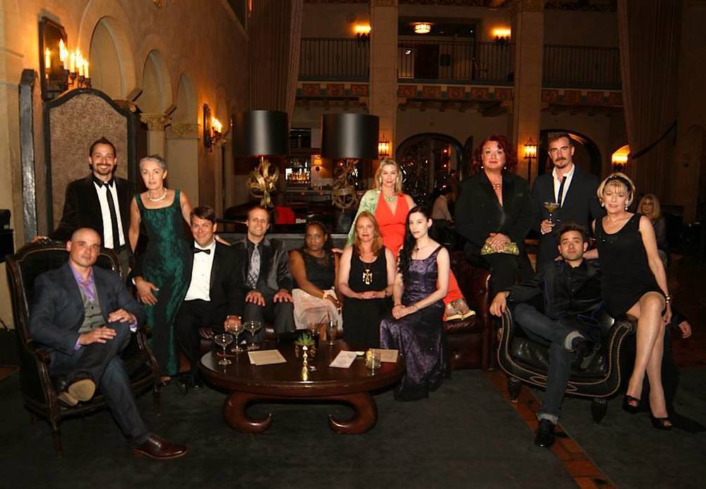Cast & Crew at the Roosevelt Hotel pre-party in Hollywood