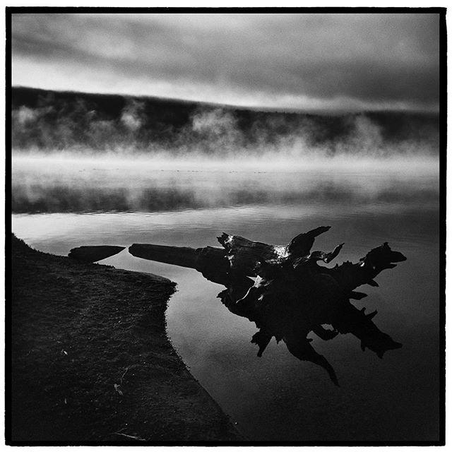 Morning mist on Redfish Lake, Sawtooth National Recreation Area, Idaho. * * * * * * * * * @mypubliclands @usinterior #mypubliclands #keepitpublic #protectourpubliclands #findyourpark #usinterior #protectthewild #aperturefoundation #lensculture #blackandwhite #holga #filmisnotdead #mediumformat #filmphotographic #documentary #idaho #afar #thegreatoutdoors #wildernessculture #americanwest