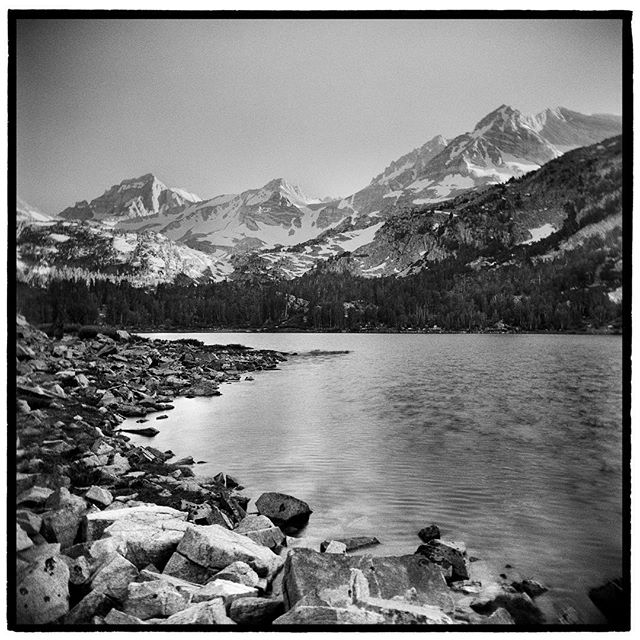 And people think that California is all beaches and palm trees. Little Lakes Valley, John Muir Wilderness, California. * * * * * * * * @mypubliclands @usinterior #mypubliclands #keepitpublic #protectourpubliclands #findyourpark #usinterior #protectthewild #aperturefoundation #lensculture #blackandwhite #holga #filmisnotdead #mediumformat #filmphotographic #documentary #mytinyatlas #afar #thegreatoutdoors #wildernessculture #americanwest