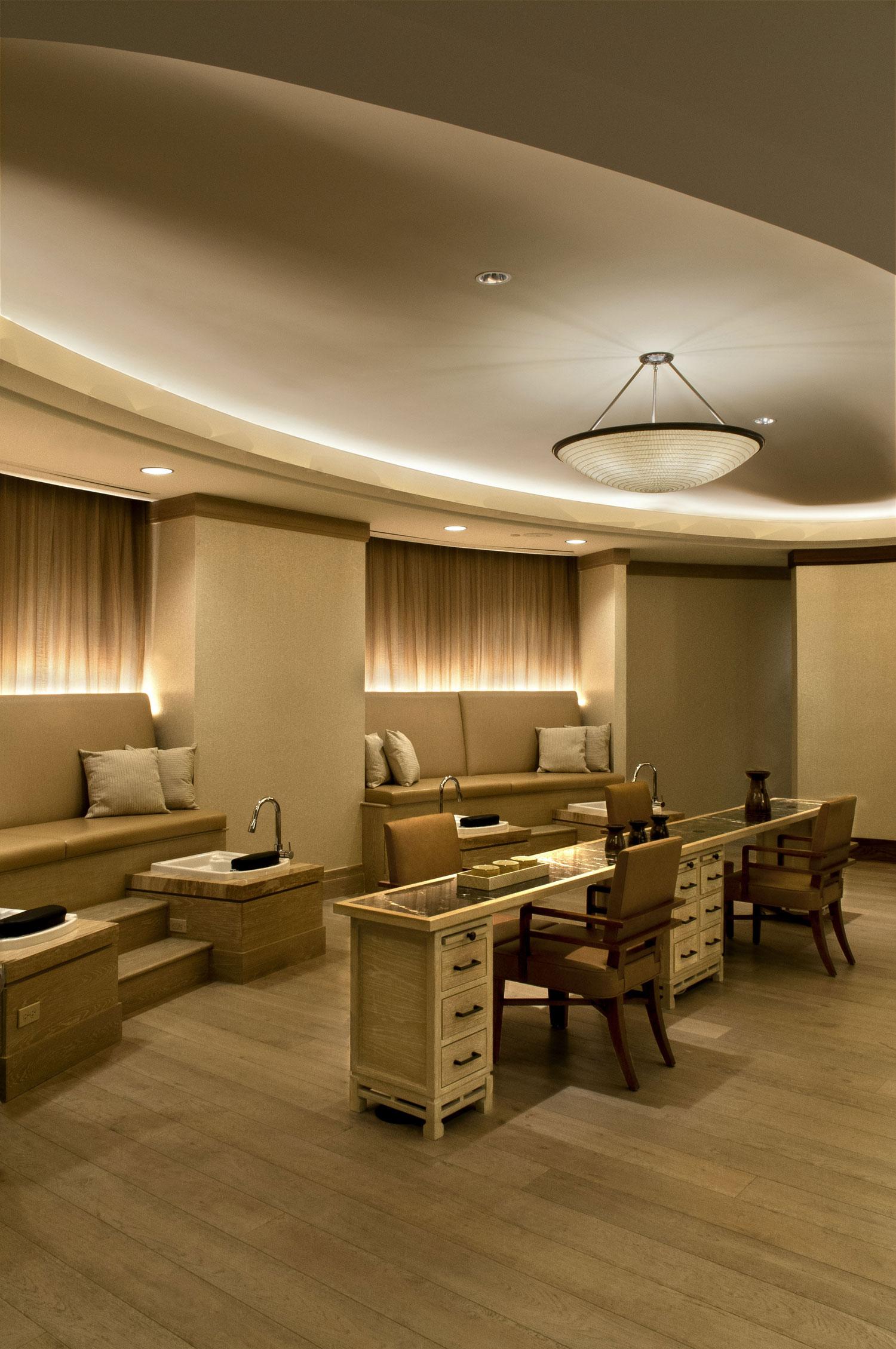 Chuan Spa / Langham Huntington Hotel — WB Powell