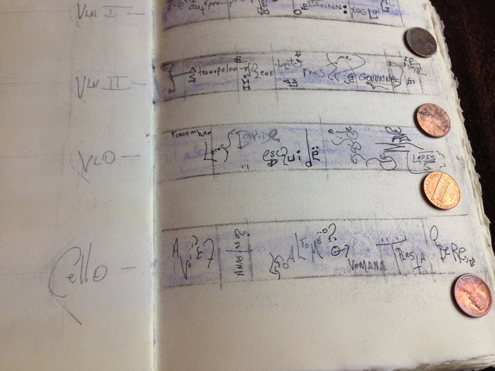 From the Sketchbook of Bil Smith Composer