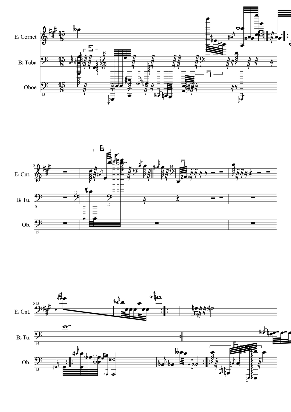 """""""Aulophobia & The Circular Time Trap"""" Bil Smith composer- Excerpt"""