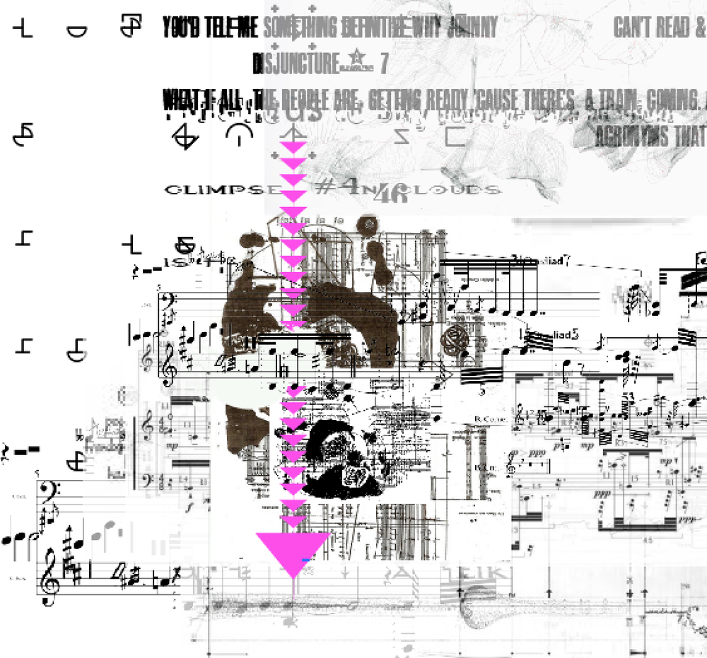 """Excerpt from """"Partitions: Cambics Avlive in Sensient Amplules"""" Bil Smith Composer- Excerpt"""