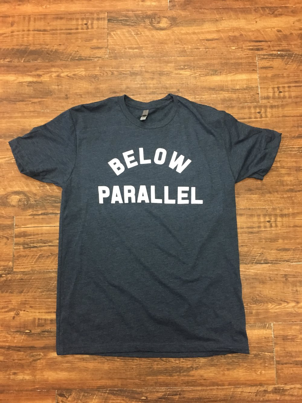 'Arch' Below Parallel- Men's $28- Nvy/Wht
