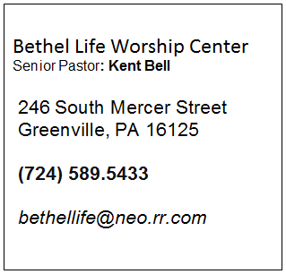 Bethel Life Worship Center