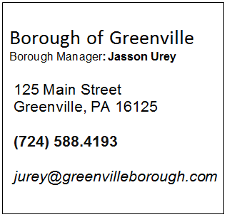 Borough of Greenville