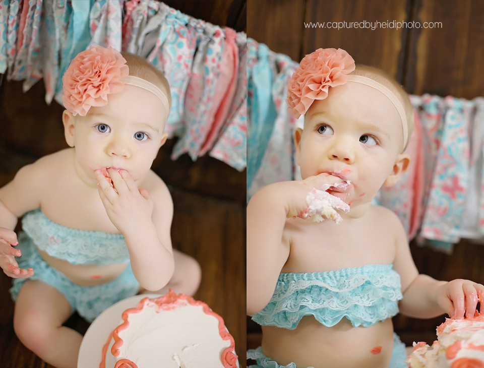 3-central-iowa-baby-cake-smash-photographer-first-birthday-party-coral-aqua-teal-birthday-cake.png