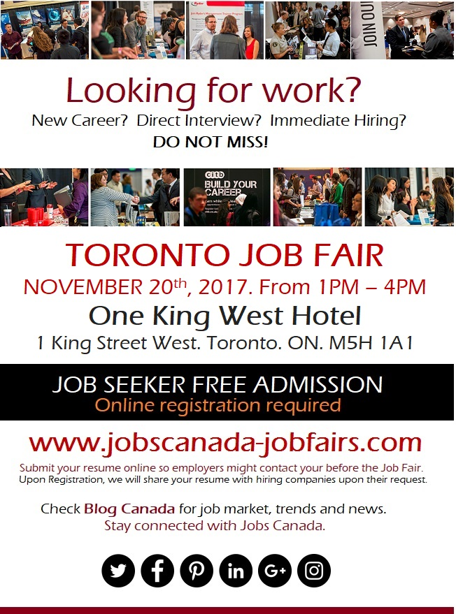 Toronto  job fair- Nov 20th, 2017.jpg
