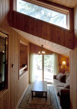 Master bedroom's sitting room.