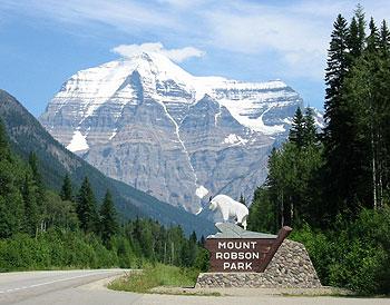 Mount Robson: highest peak of the Canadian Rockies