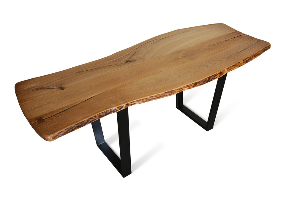 Etz & Steel Chardonnay Live Edge Table Black Base 2.jpg