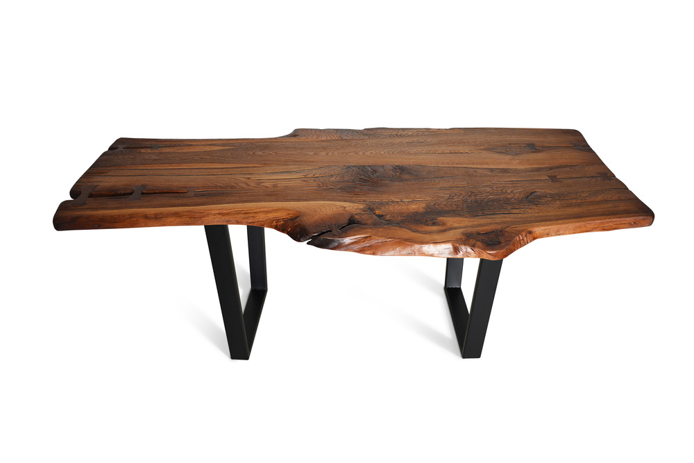 Etz & Steel Brown Beauty Live Edge Table Black Base 2.jpg