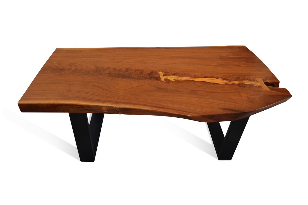 Etz & Steel Mocha Live Edge Table Black Base 1.JPG