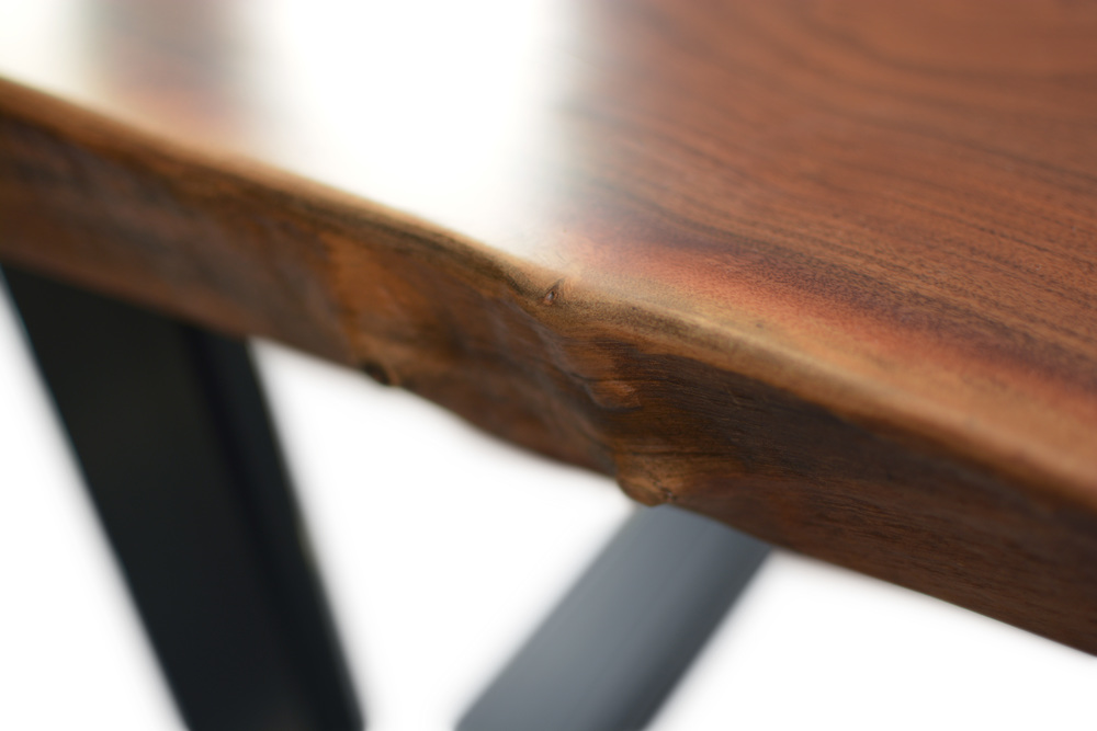 Etz & Steel Mocha Live Edge Table Close Up 2.JPG