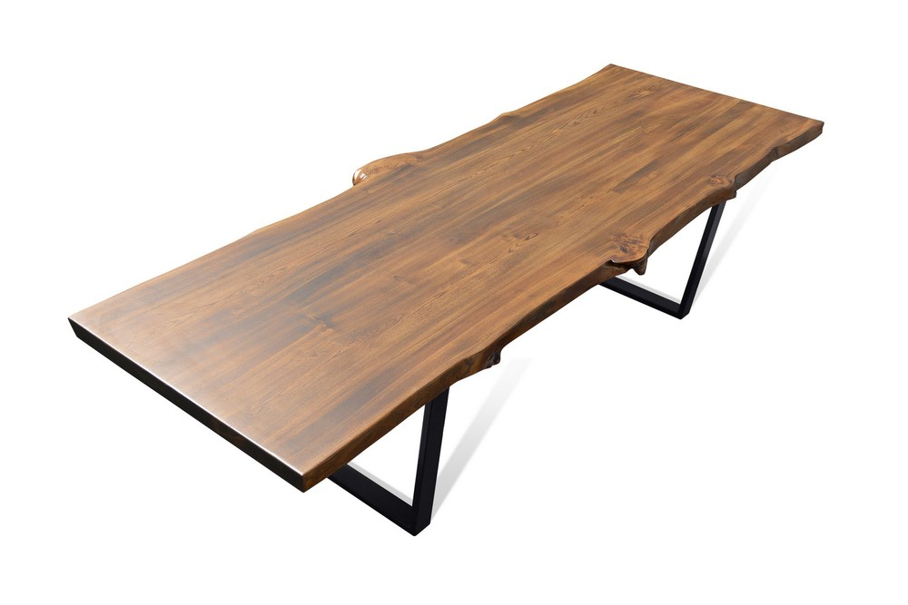 Etz & Steel Live Edge Cognac Table Black Base 6.jpg